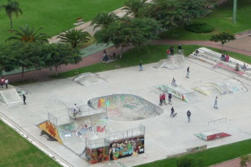 Skatepark / Skateelements made of concrete by A+ URBAN DESIGN